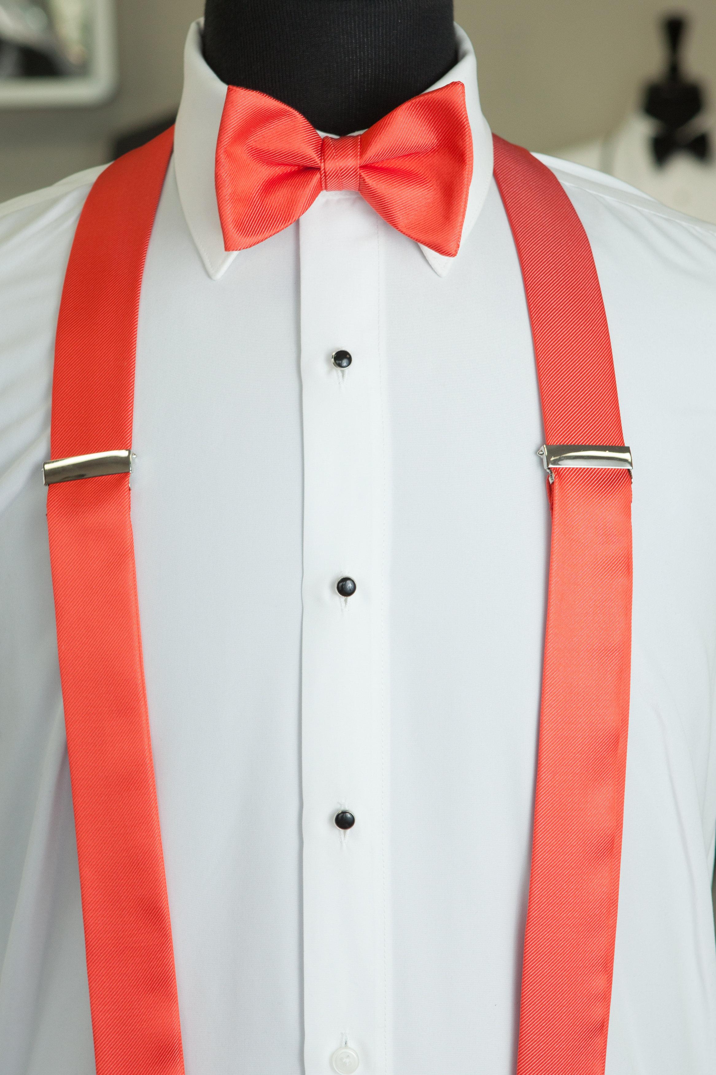 sun coral suspenders classic tuxedos suits