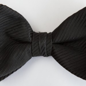 Synergy Black Bow Tie