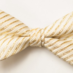 Synergy Metallic Gold Bow TIe