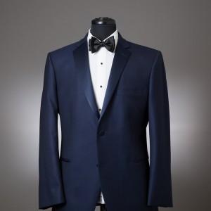 Navy Sebastian Coat